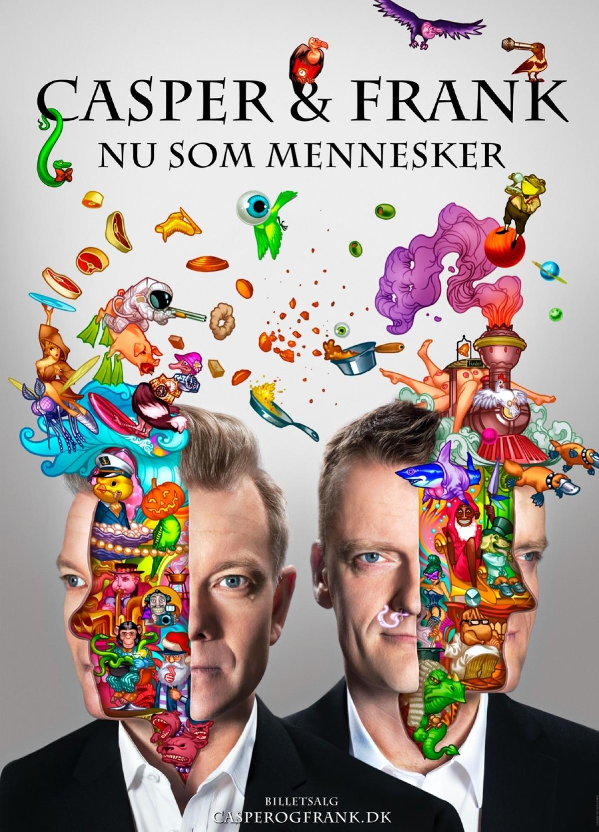 Casper Christensen og Frank Hvam - Nu som mennesker
